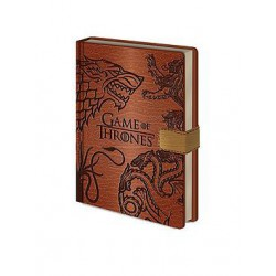 GAME OF THRONES-NOTEBOOK PREM. A5 SIGILS