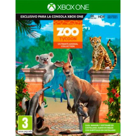 Zoo Tycoon Ultimate animal Collector Edition - Xbox one