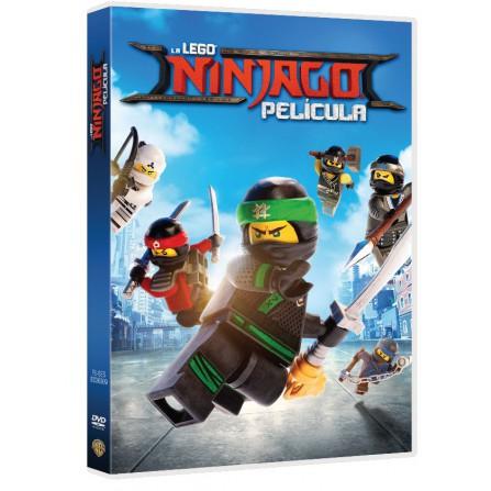 LEGO NINJAGO PELICULA FOX - DVD