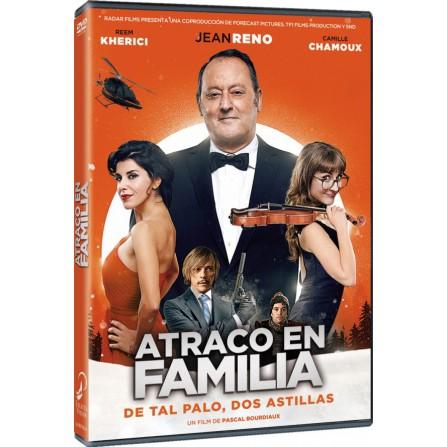 ATRACO EN FAMILIA FOX - DVD