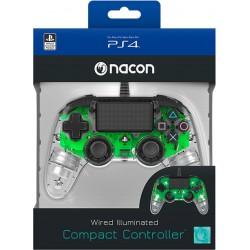 Mando Nacon Verde Light (Cable) Licenciado - PS4