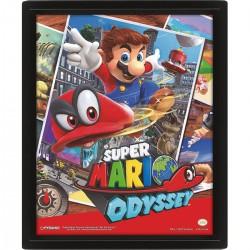 Cuadro 3D Super Mario Odyssey