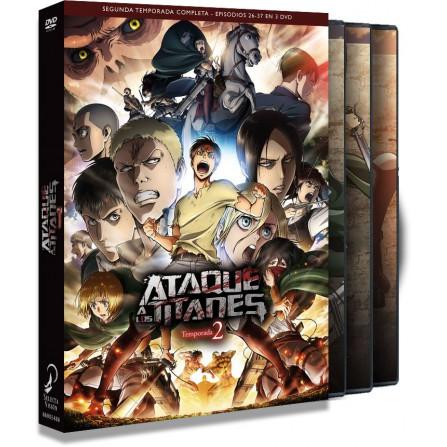 ATAQUE A LOS TITANES T:2 1 a 12 FOX - DVD