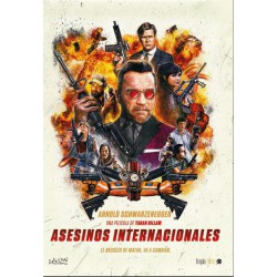 ASESINOS INTERNACIONALES DIVISA - DVD