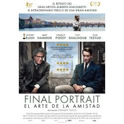 Final Portrait. El arte de la amistad - DVD