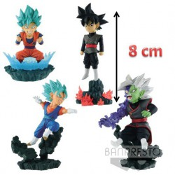 Figura Dragon Ball World Diorama Coleccionista (4 Figuras)