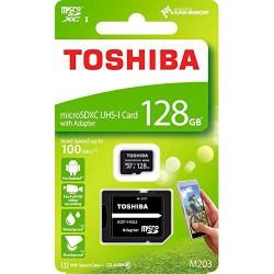 Tarjeta Micro SD Toshiba 128GB CL10 R100