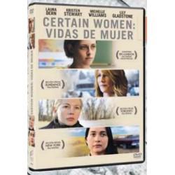 Certain women. Vidas de mujer - DVD