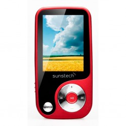 MP4 Sunstech Thorn4GBRD Rojo