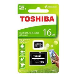 Memoria Toshiba MicroSDHC 16GB CL10 R100