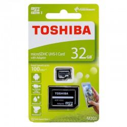 Memoria Toshiba MicroSDHC 32GB CL10 R100