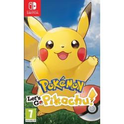 Pokemon lets go Pikachu! - SWI