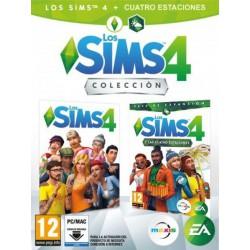 Sims 4 + Sims 4 Estaciones (DLC) - PC