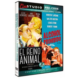 El Reino Animal + Alcohol Prohibido - DVD