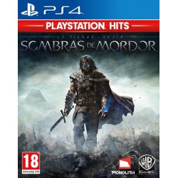 La Tierra Media Sombras de Mordor PS Hits - PS4