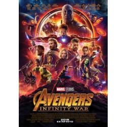 Vengadores: Infinity War BD3D - BD