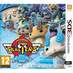 Yo-Kai Watch Blasters Escuadrón del Perro Blanco - 3DS