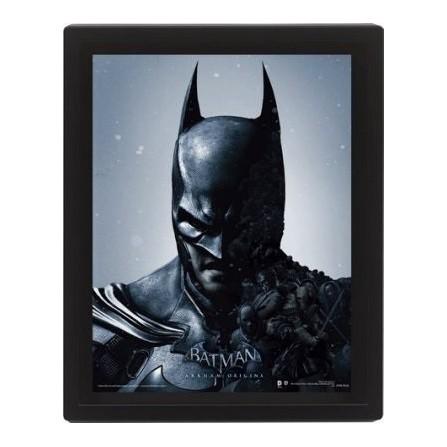 Cuadro 3D Batman Arkham Origins