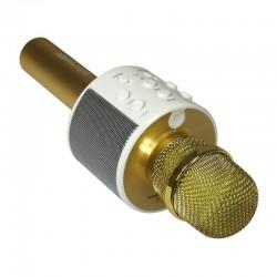Micrófono Karaoke Wireless ET-WS10 Oro