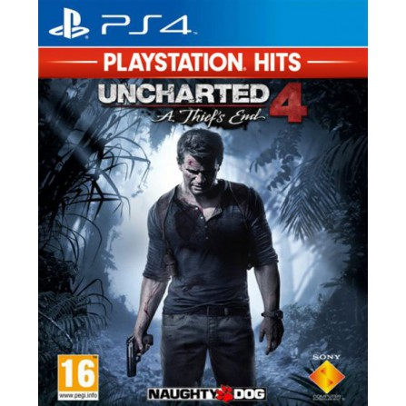 Uncharted 4: El desenlace del Ladrón PS Hits - PS4