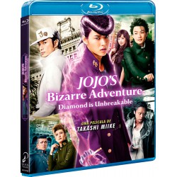 Jojo´s bizarre adventure diamond is unabreakable. la pelÍcula bl - DVD