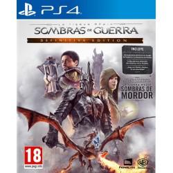 La Tierra Media Sombras de Guerra Edición Definitiva - PS4