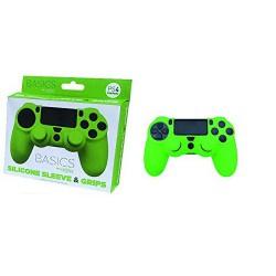 Silicona mando Verde + Grips - PS4