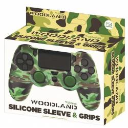 Silicona mando Woodland + Grips - PS4