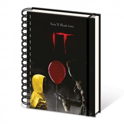 It - Spiral Notebook Pennywise & Georgie