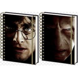 Spiral Notebook 3D Harry Potter