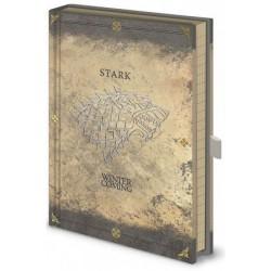 Game of Thrones - Stark Worn - Notebook Premium