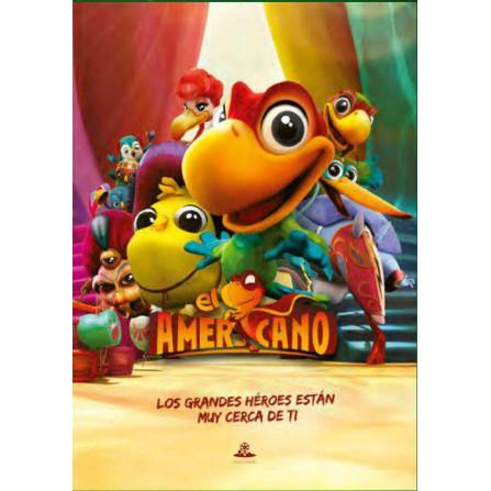 El americano (animacion) - DVD