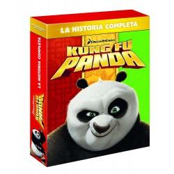 Kung Fu Panda 1-3 - DVD