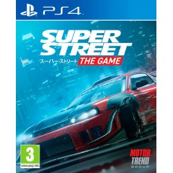 Super Street - The game - PS4