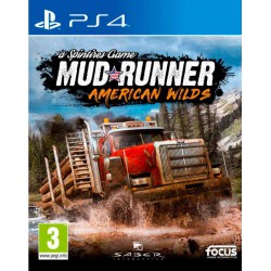 Spintires Mudrunner - American Wilds - PS4