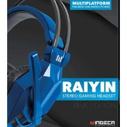 Headset Raiyin Blue Indeca - PS4
