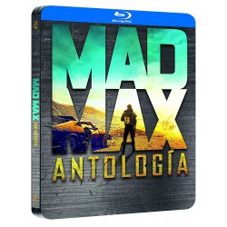 Pack mad max 1-4 black metal edition blu-ray - BD