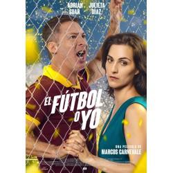 El fútbol o yo - DVD