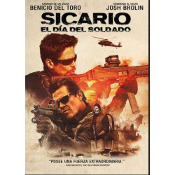 Sicario: El día del soldado - BD