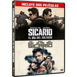 Pack: Sicario 1 + Sicario 2  - DVD