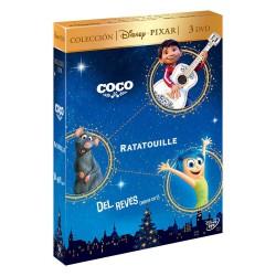 Pack Coco + Ratatouille + Del Revés - DVD