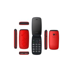 "Telefono 2,4"" Qubo Neo Rojo"