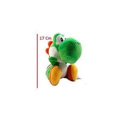Peluche Yoshi Green 17cm