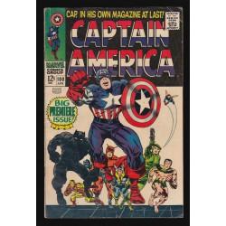 Lienzo Capitán América Retro (30x40cm)