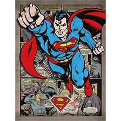 Lienzo comics Superman (30x40cm)