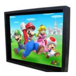 Cuadro 3D Super Mario Group Run