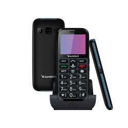 Teléfono Sunstech CEL3BK Negro