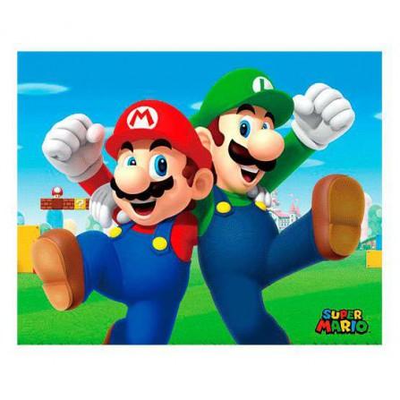 Cuadro 3D Mario y Luigi (Super Mario)