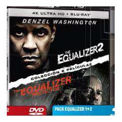 Pack The equalizer 1+2 (UHD + BD)