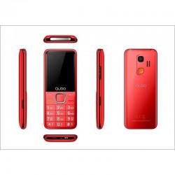 "Telefono 2.4"" Qubo Xeus Rojo"